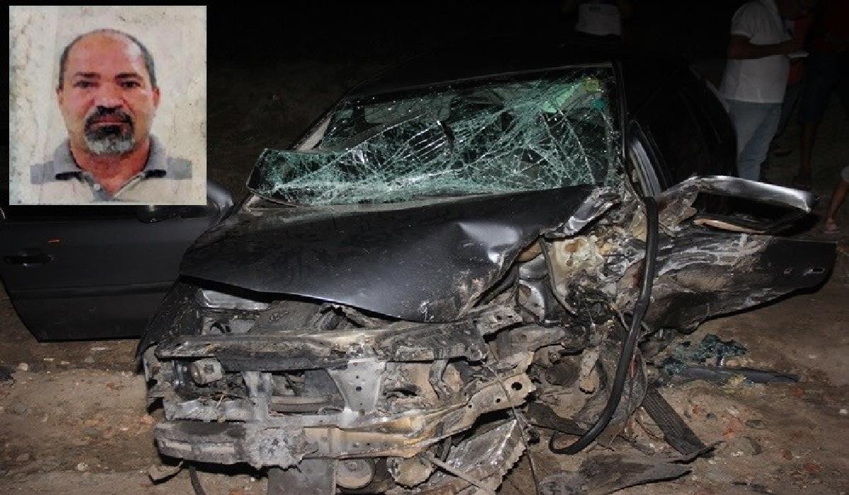 Carlos Antônio Evangelista condutor do Gol morreu ao dar entrada no hospital