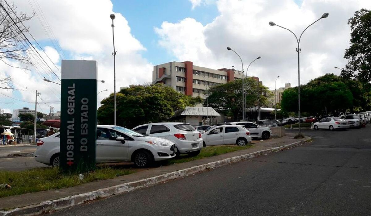 Vítimas foram levadas para o Hospital Geral do Estado
