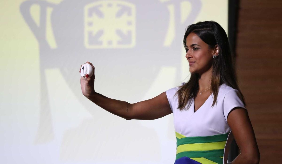 Sorteio que definiu duelos das quartas da Copa do Brasil