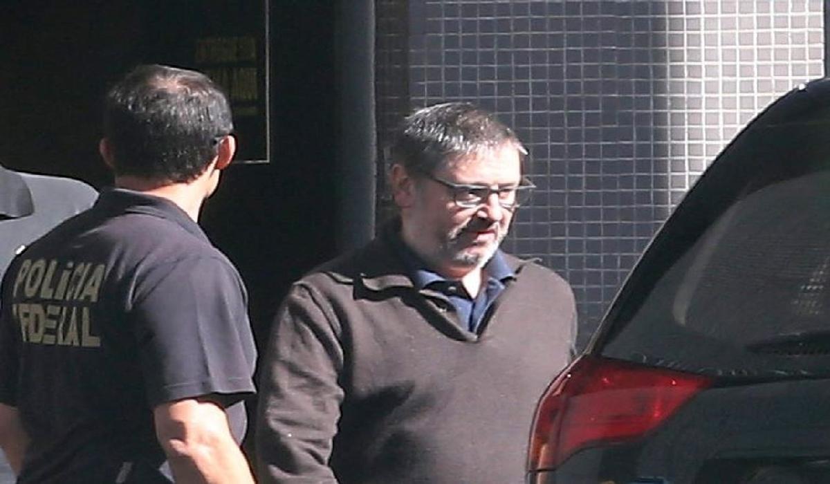 Ex-deputado Rodrigo Rocha Loures deixa a carceragem da PF, em Brasília, em imagem de arquivo