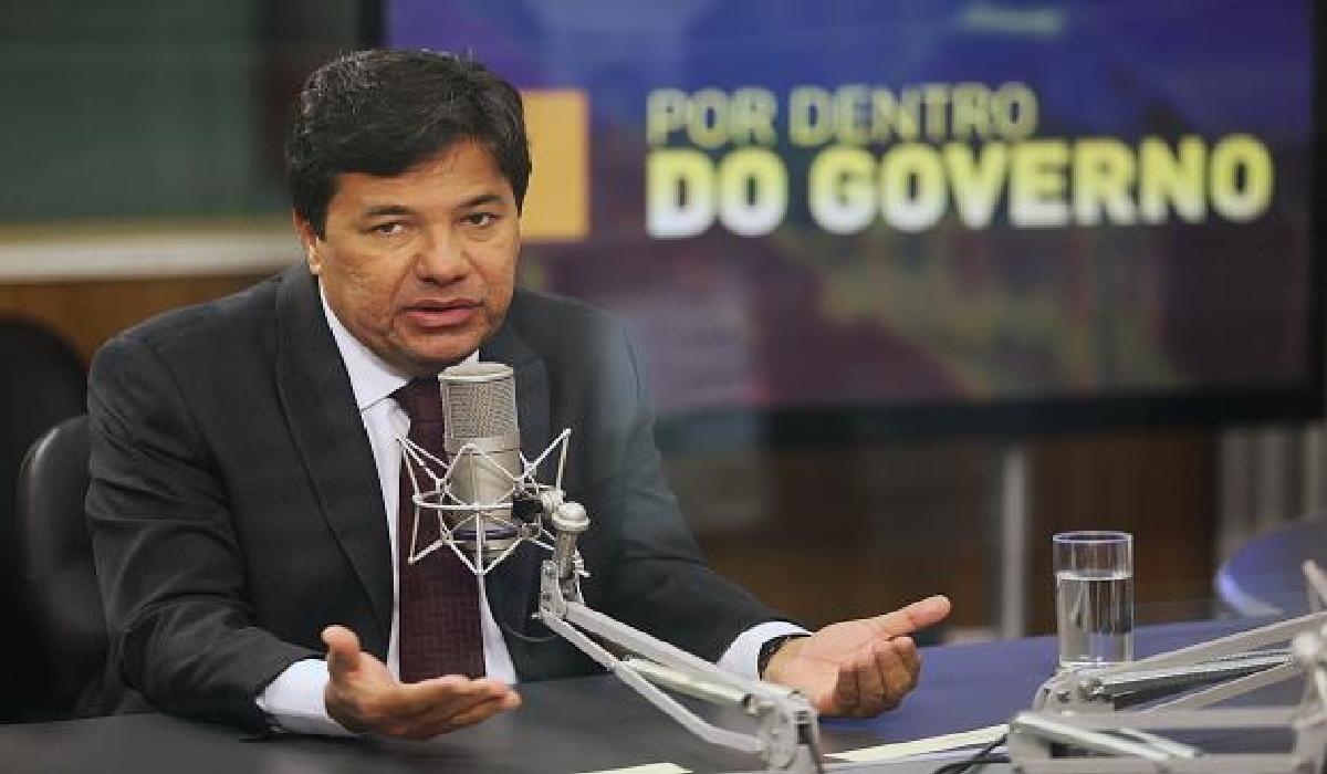 O ministro da Educação,Mendonça Filho, concede entrevista ao programa Por Dentro do Governo, da TV NBR