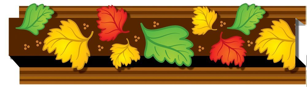CD 108044 POP-ITS AUTUMN LEAVES BORDER