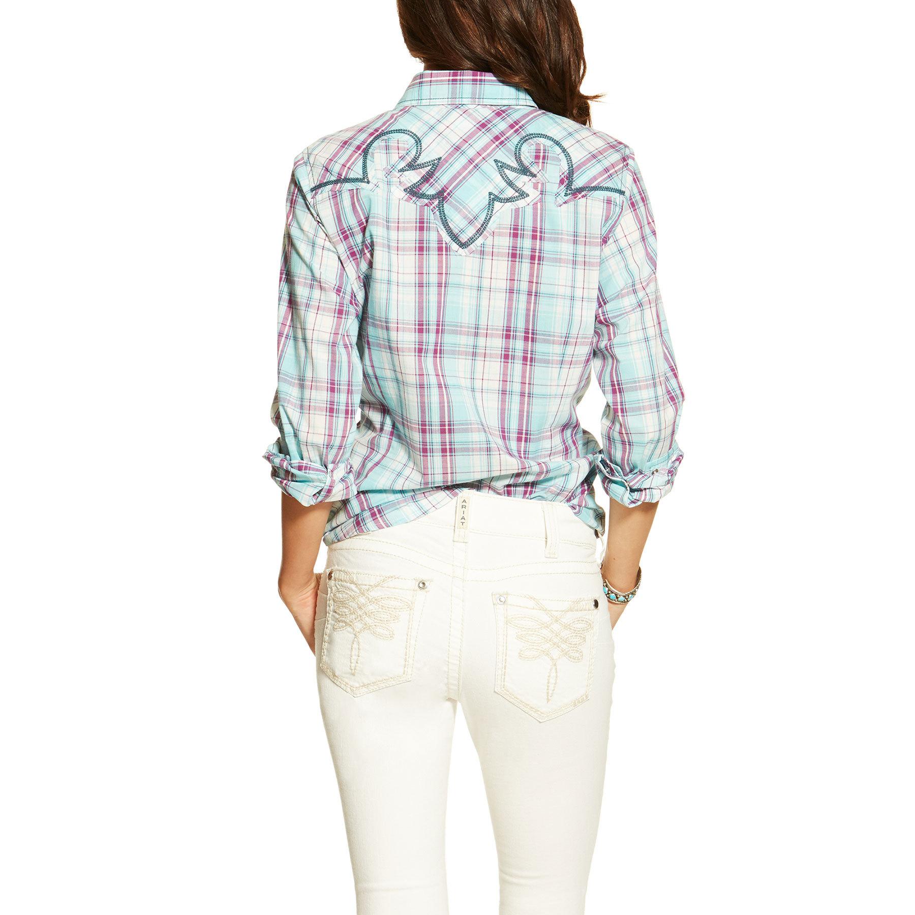 212ca69c Ariat Women's Shirt 'Loren' Snap Shirt Multi | Pakenham Western Wear And  Saddlery