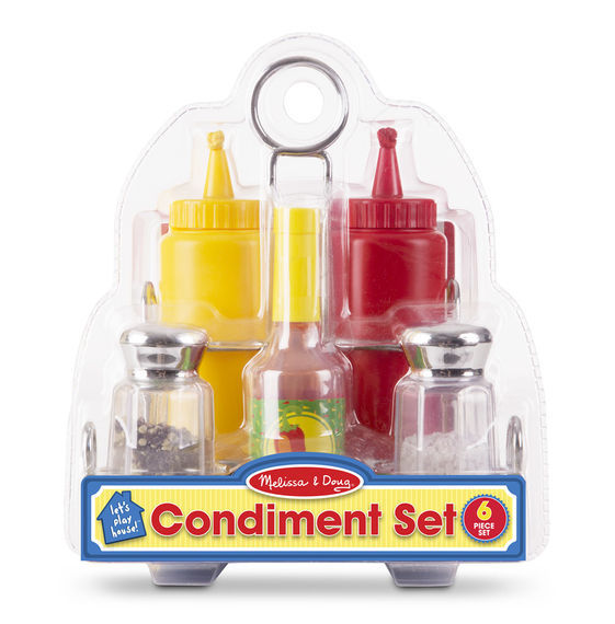 MD 9358 CONDIMENTS SET