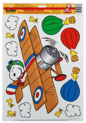 EU 836047 PEANUTS FLYING ACE CLINGS