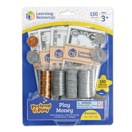 LER 2725 PRETEND-N-PLAY MONEY