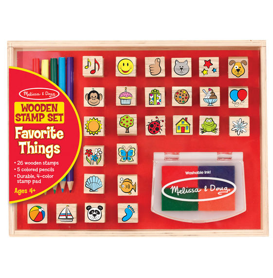 MD 9362 WOODEN FAV THINGS STAMP SET