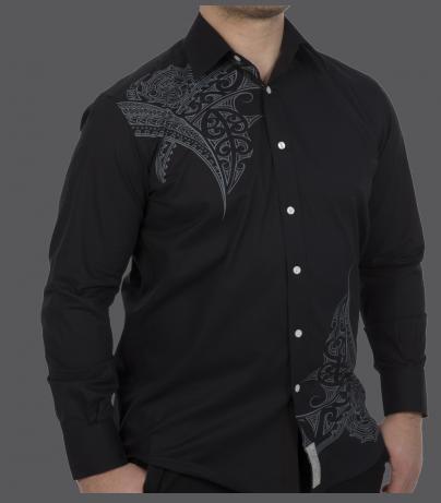 Black Pacifica Dress Shirt