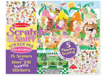 MND Scratch Sniff Floral Fairies
