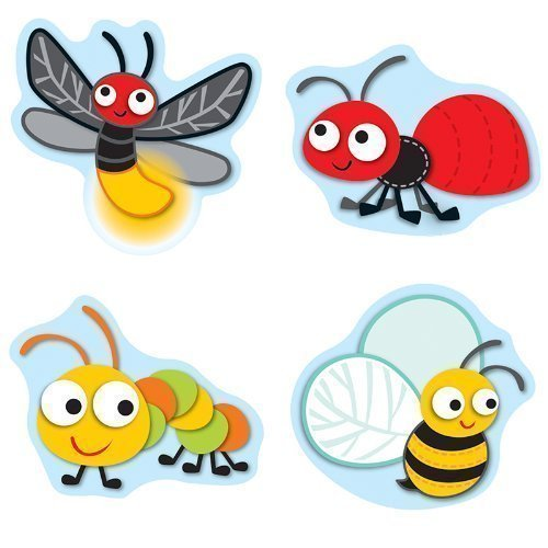 CD 168148 BUGGY FOR BUGS STICKERS