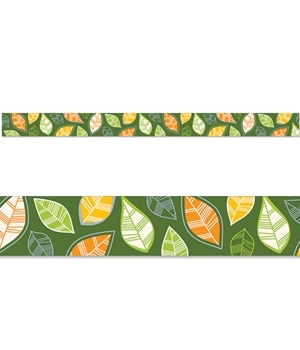 CTP 8390 AUTUMN LEAVES BORDER