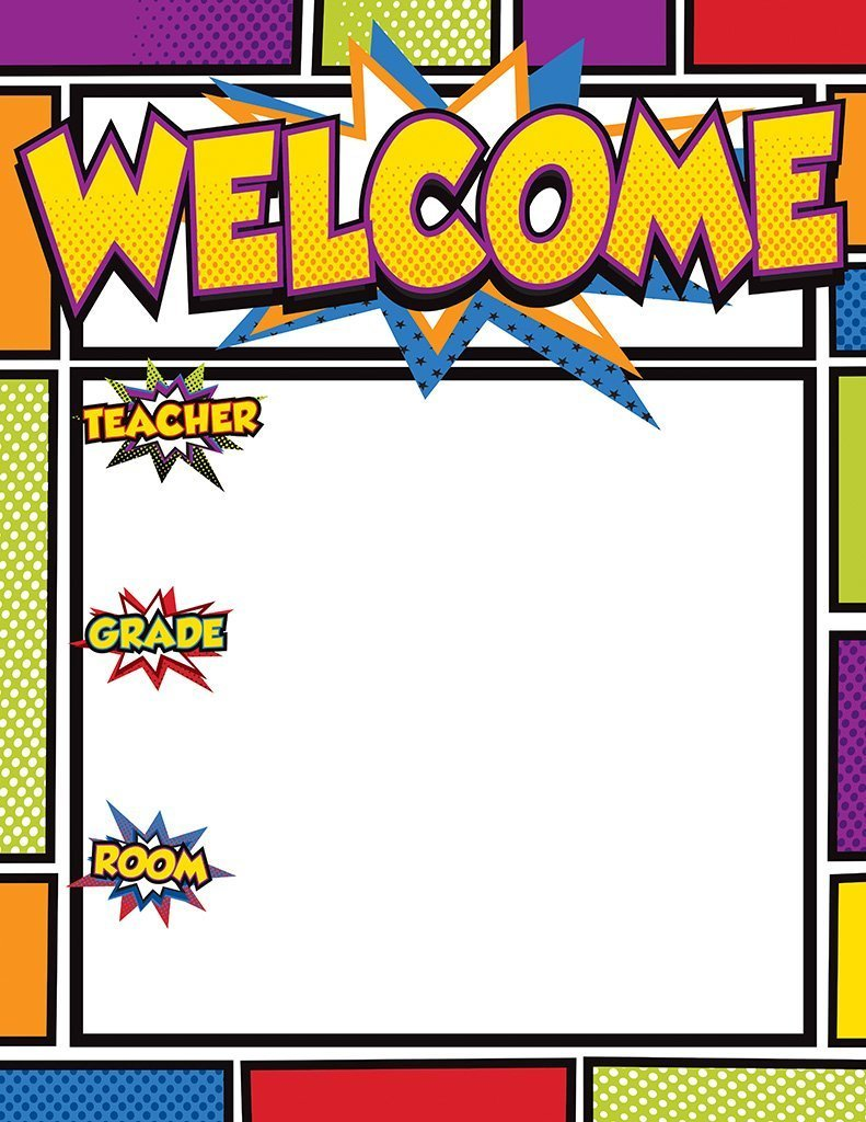 CD 114205 SUPER POWER WELCOME CHART