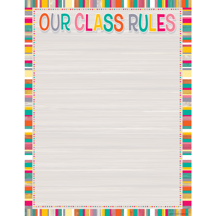 TCR 7527 TROPICAL PUNCH OUR CLASS RULES CHART