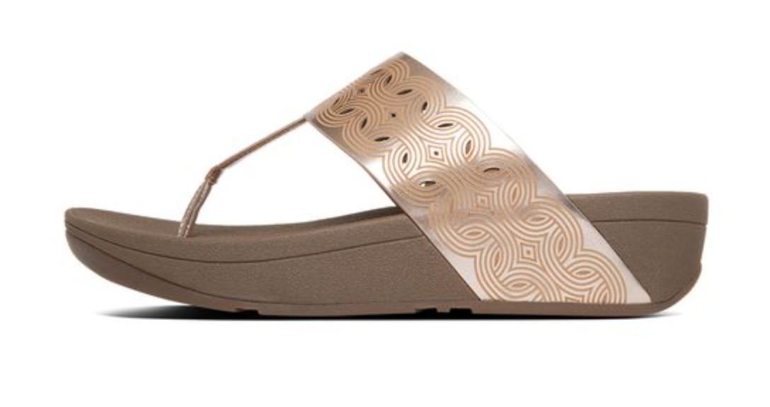 5275e2628 fitflop Womens Bahia Sandals - Rose Gold