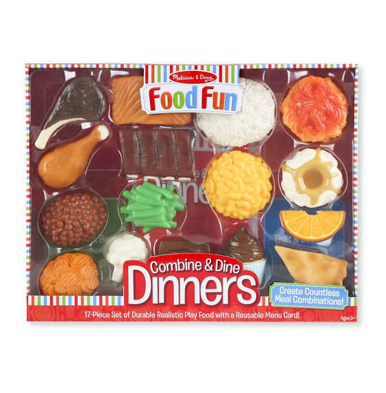 MD 8267 FOOD FUN COMBINE & DINE DINNERS