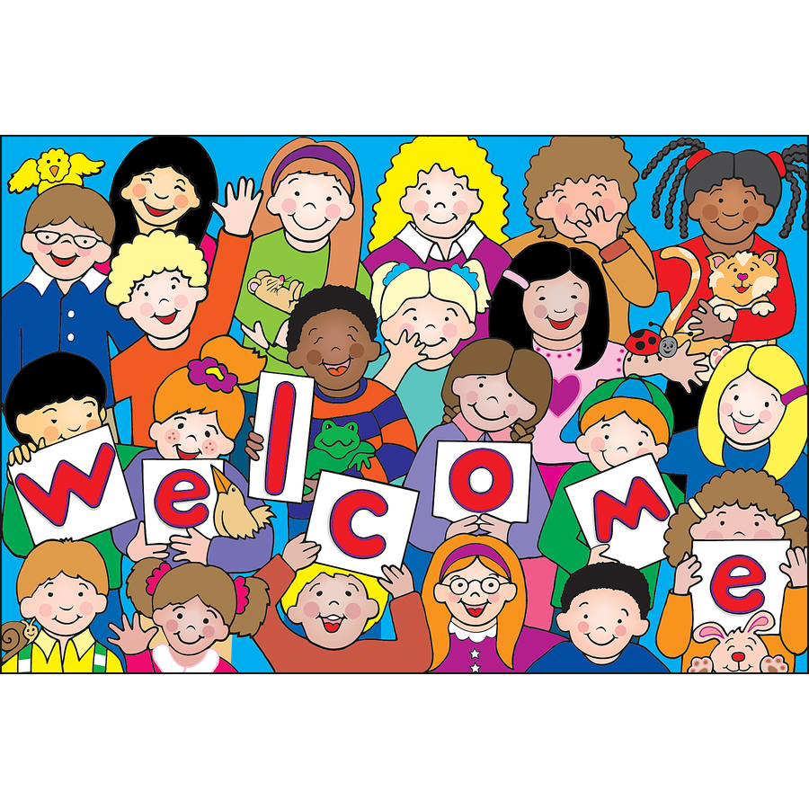 TCR 4077 KIDS WELCOME POSTCARDS