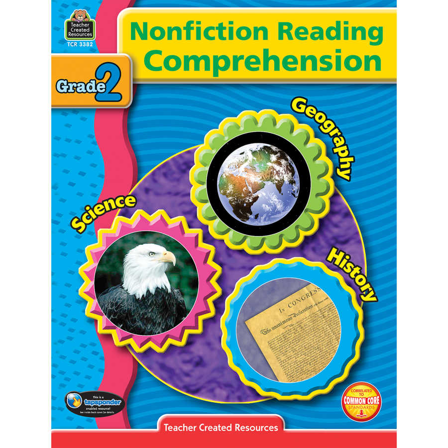 TCR 3382 NF READING COMPREHENSION G 2