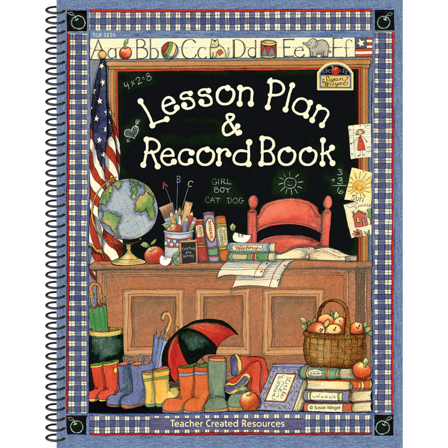 TCR 3250 SW LESSON PLAN AND RECORD BOOK