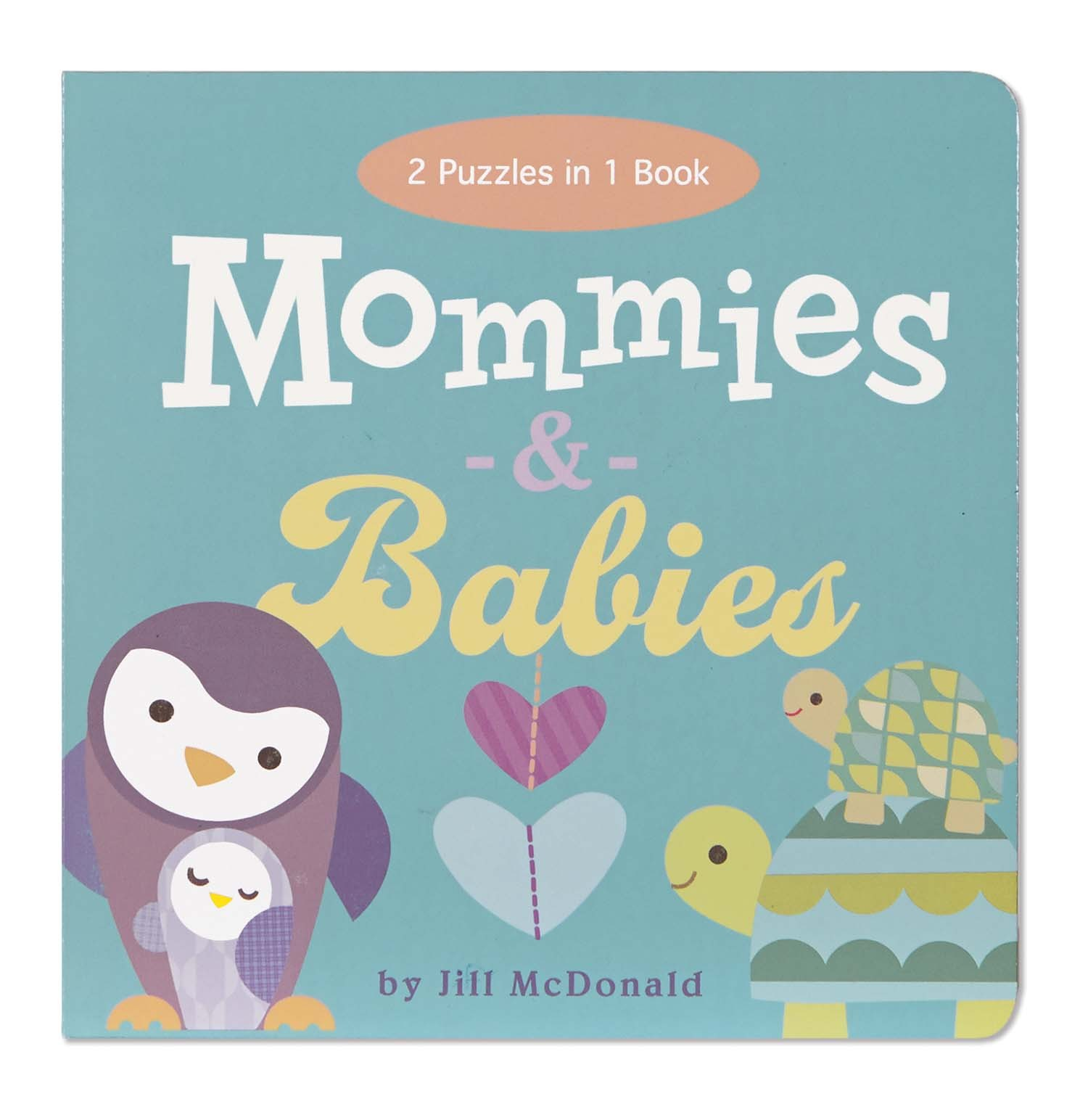 EU BBBP 12697 MOMMIES & BABIES PUZZLE BOOK