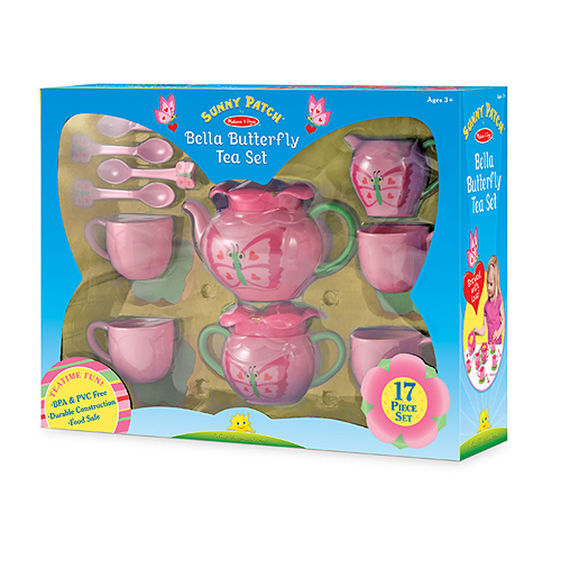MD 6181 BELLA BUTTERFLY TEA SET