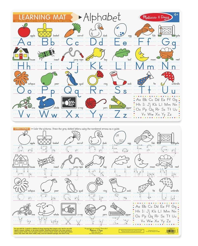 MD 5003 ALPHABET WRITE A MAT
