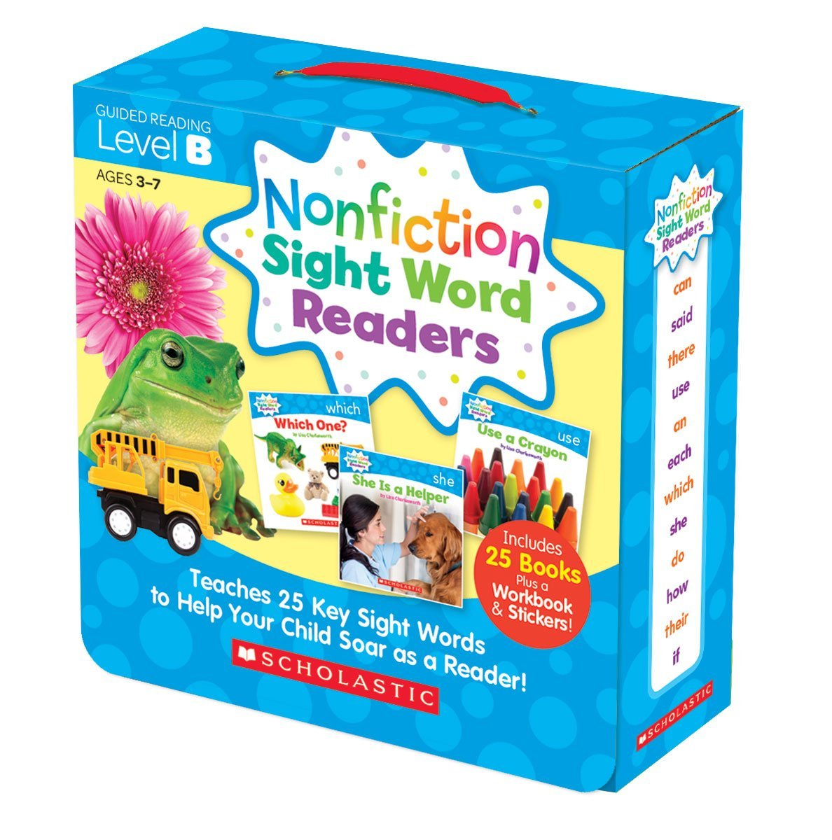 SC 584282 SIGHT WORD READERS LEVEL B