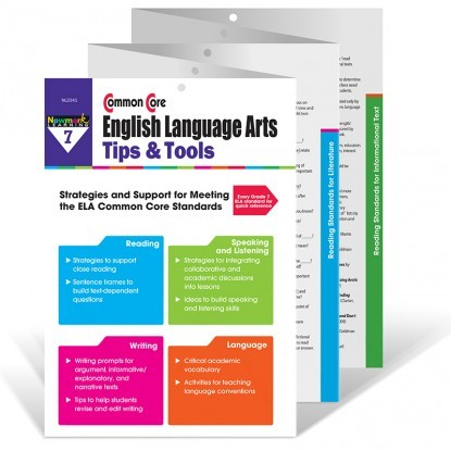 NL 2341 COMMON CORE ENGLISH LANGUAGE ARTS TIPS TOOLS GR 7