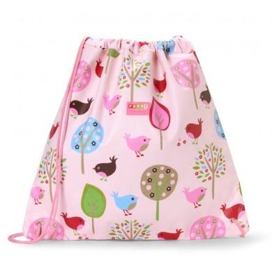 Penny Scallan NEW Drawstring Bag, Chirpy Bird, One Size