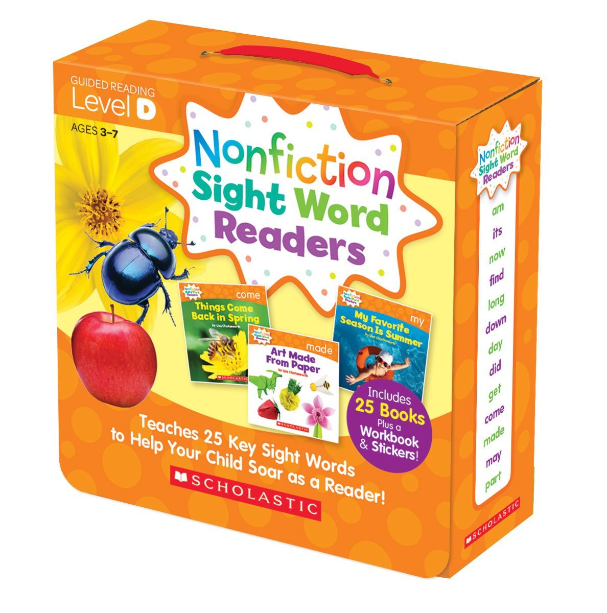 SC 584284 SIGHT WORD READERS LEVEL D