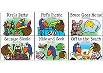 6 Kiwi Critters Books