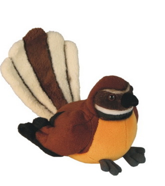 Fantail with Sound Soft Toy