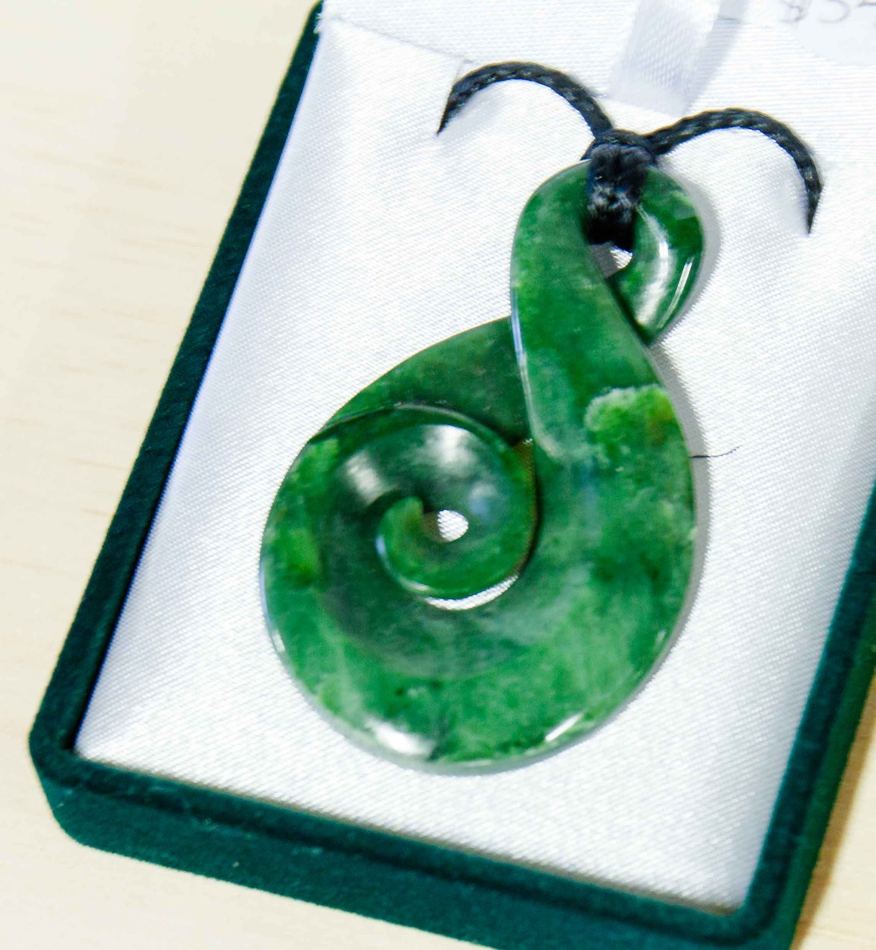 jade pendant products all koru necklace pounamu the studio greenstone