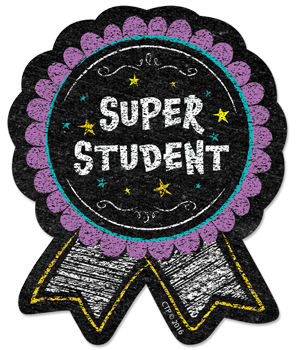 CTP 1067 CHALK SUPER STUDENT BADGE