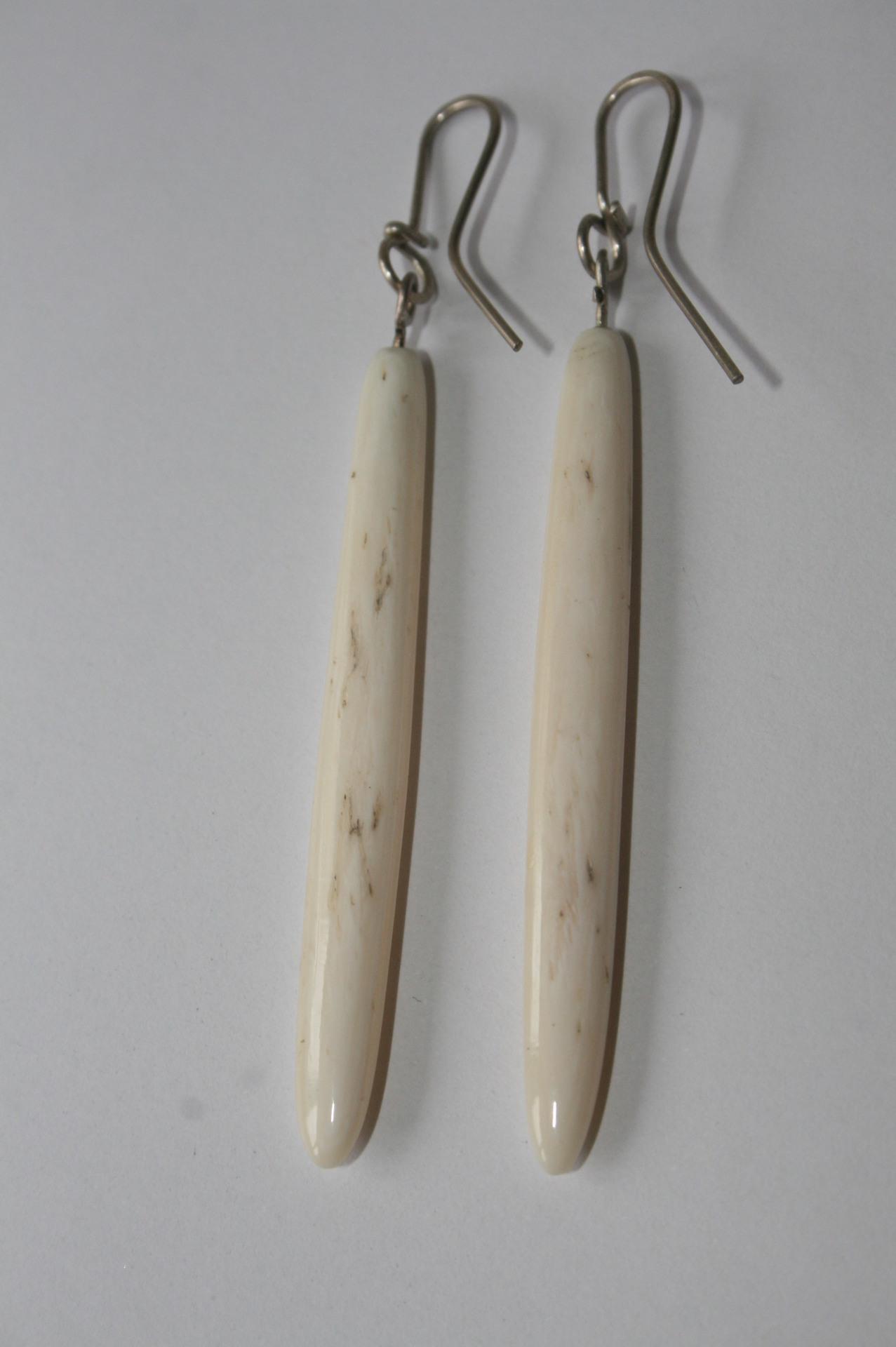 Whale Bone Earrings