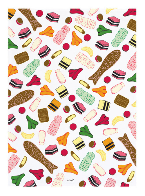 Pick 'n' Mix Teatowel