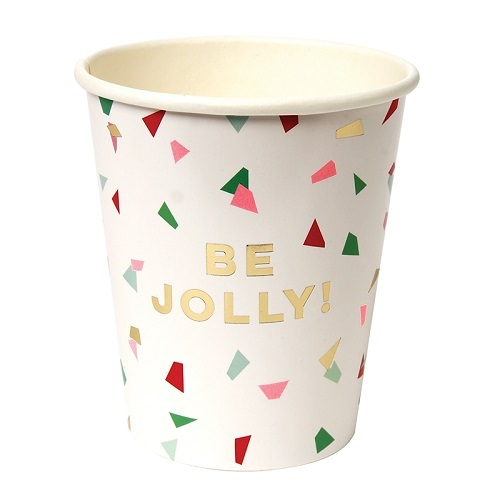 Be Jolly Party Cups