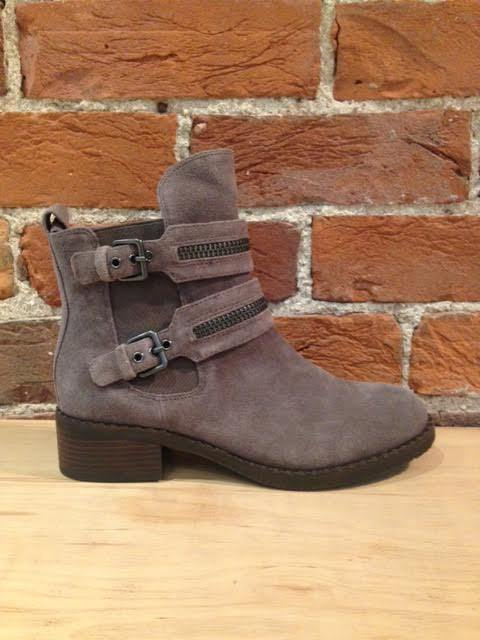 GENTLE SOULS - BARBERTON BOOT IN GREY SUEDE