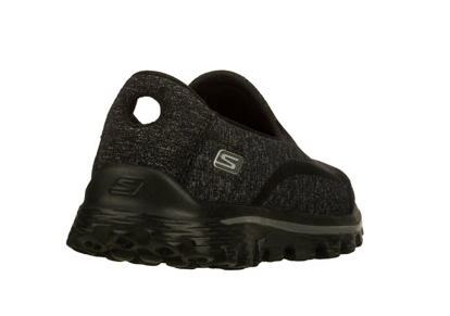womens skechers go walk 2 black
