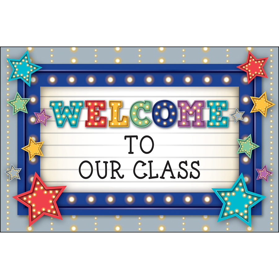 TCR 5486 MARQUEE WELCOME POSTCARDS