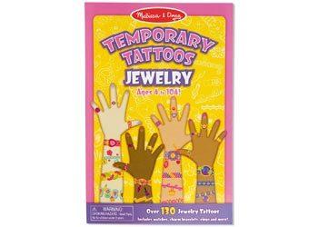 Melissa & Doug Temp Tattoos Jewellery