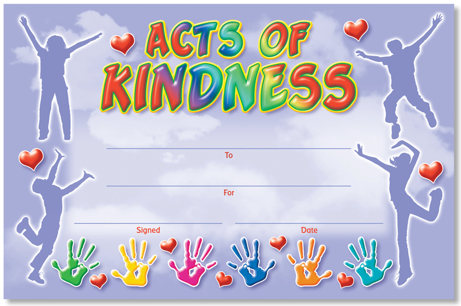 NS 6053 ACTS OF KINDNESS AWARD