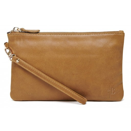 HBUTLER - MIGHTY PURSE IN ALMOND BROWN
