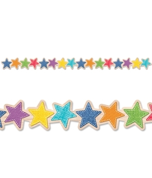 CTP 8383 UPCYCLE STARS BORDER