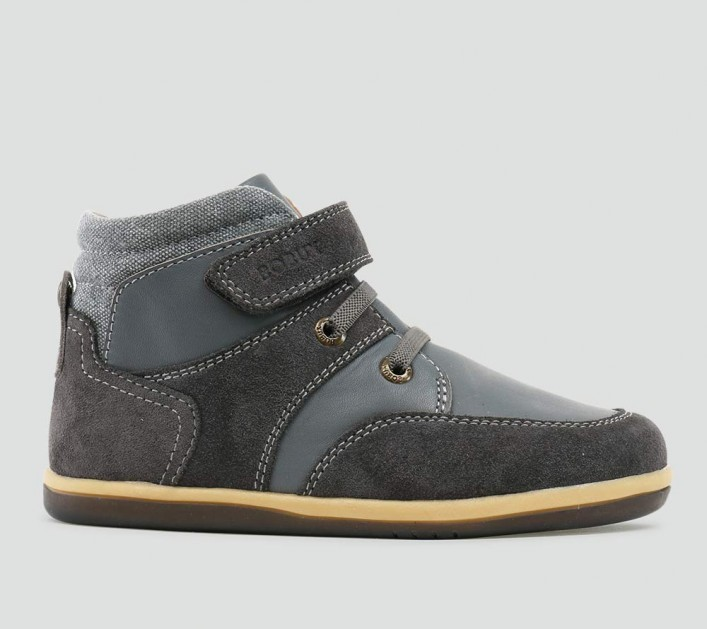Bobux Stomp Boot - Charcoal