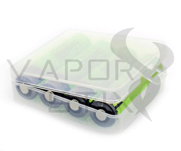 4x118650 Battery Case