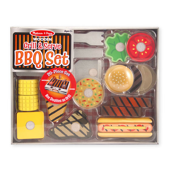 MD 9280 GRILL & SERVE BBQ SET