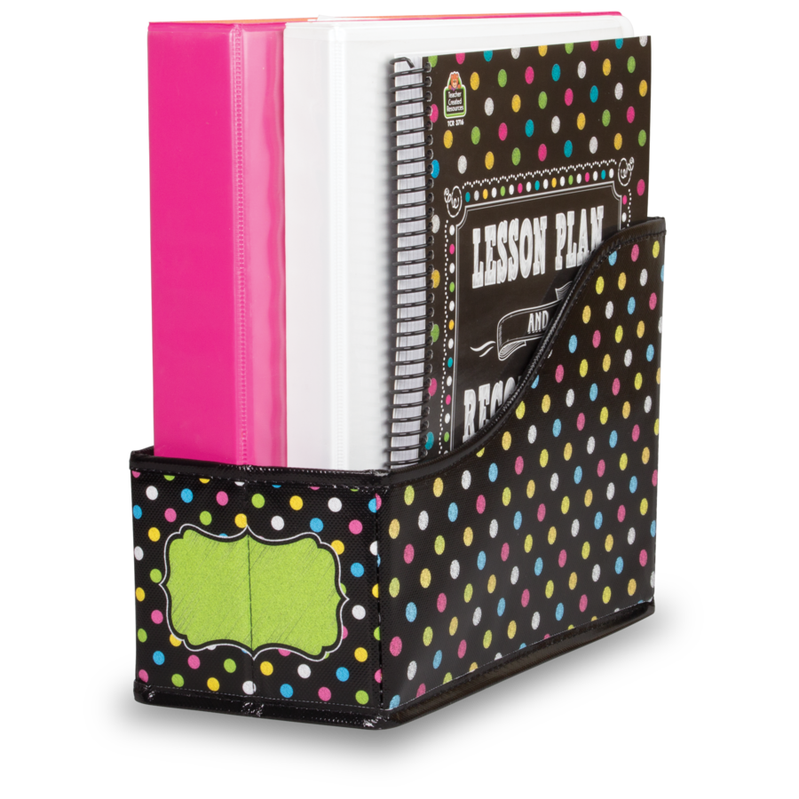 TCR 20784 CHALKBOARD BRIGHT BOOK BIN
