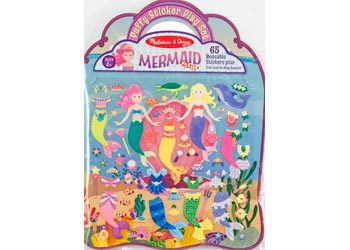 M&D Puffy Sticker - Mermaid