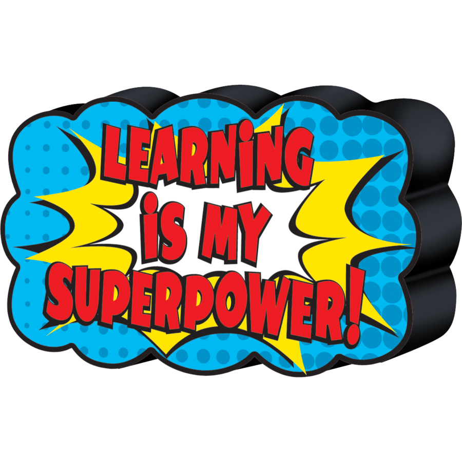 TCR 77288 SUPERHERO MAGNETIC WHITEBOARD ERASER