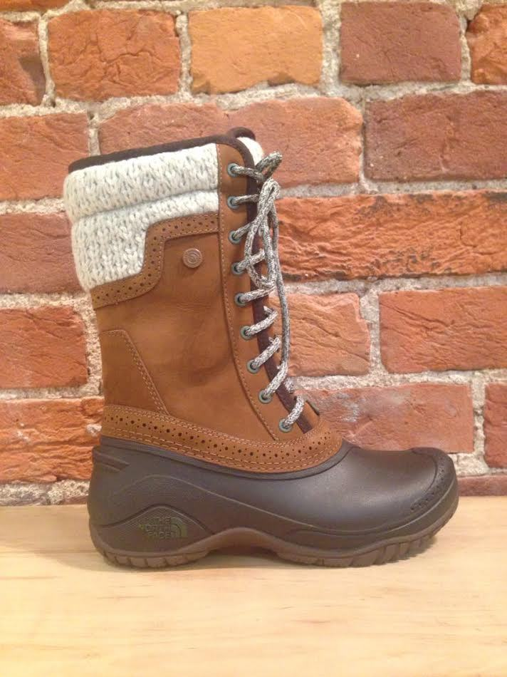 NORTH FACE - SHELLISTA II MID DACHSHUND BROWN/DEMITASSE BROWN